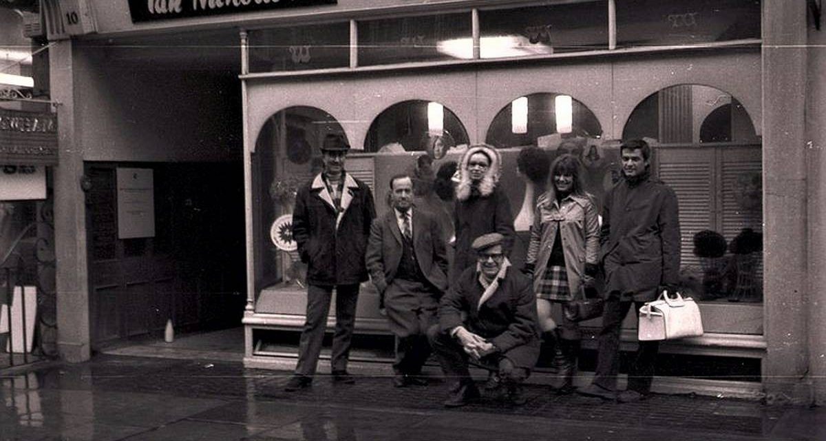 Paul Neagu, Sally Holman, Peter și Ritzi Jacobi, Ion Bitzan, 1969