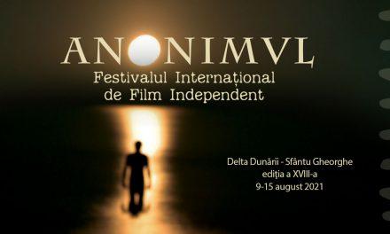 Festivalul Internațional De Film Independent ANONIMUL anunță a 18-a ediție și apelul de inscrieri scurtmetraje
