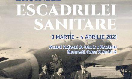 """""""Eroinele Escadrilei Sanitare"""" – Exponatul lunii martie la Muzeul Național de Istorie a României"""