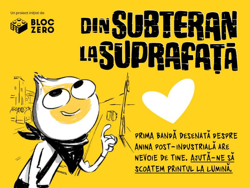 Crowdfunding pentru tipărirea primei benzi desenate despre orașul post-industrial Anina
