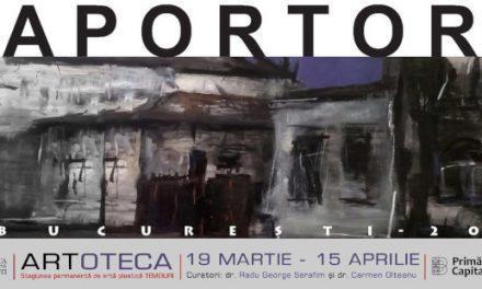 """Eugen Raportoru, """"Bucureşti 2021"""" la Artoteca Bibliotecii Metropolitane Bucureşti"""