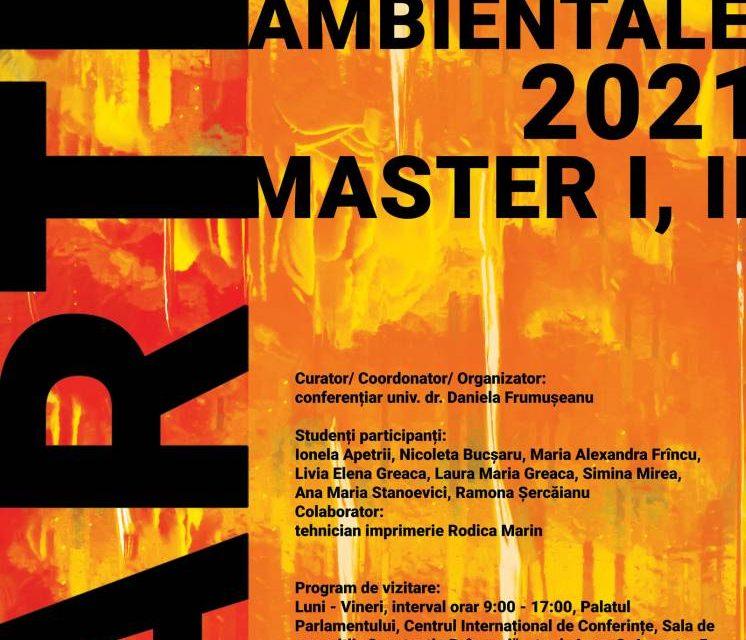 """Expoziţia ARTE TEXTILE AMBIENTALE 2021, Master I, II @ Sala de Expoziţii """"Constantin Brâncuşi"""", PALATUL PARLAMENTULUI"""