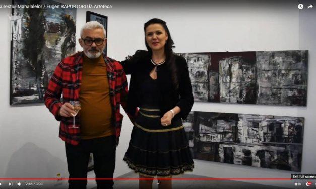 """Expoziţie personală Eugen Raportoru, """"Bucureşti 2021"""" la Artoteca Bibliotecii Metropolitane Bucureşti"""