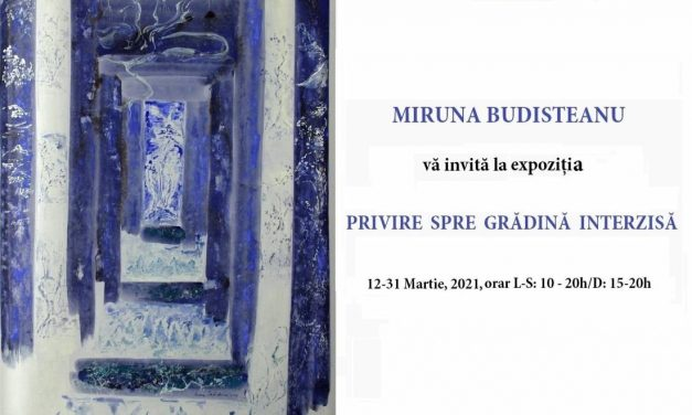 """Expoziție Miruna Budișteanu, """"Privire spre grădina interzisă"""" @ Biblioteca Academiei Române, București"""