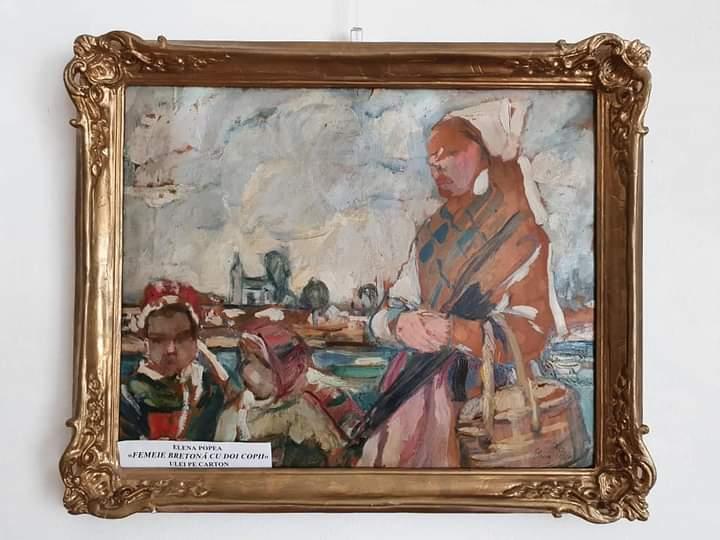 """Figuri feminine în colecţia Muzeului """"Octavian Goga"""" din Ciucea"""