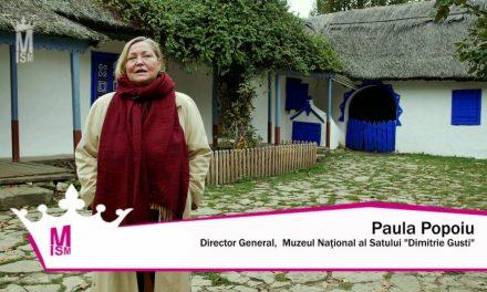 """Despre Muzeul National al Satului """"Dimitrie Gusti"""", cu Paula Popoiu"""