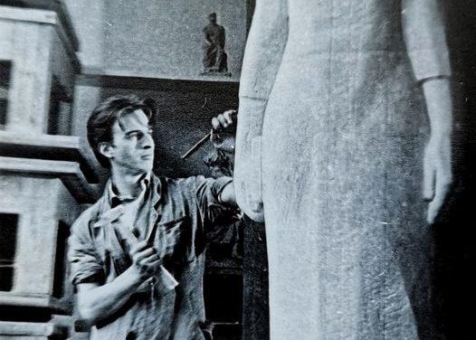 Sculptorul Gheorghe Iliescu-Călinești