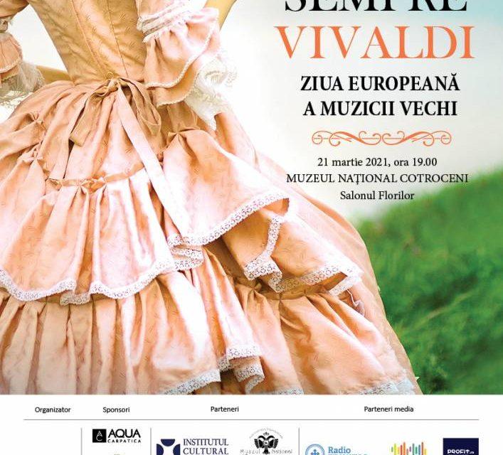 Concertul SEMPRE VIVALDI @ Ziua Europeană a Muzicii Vechi 2021