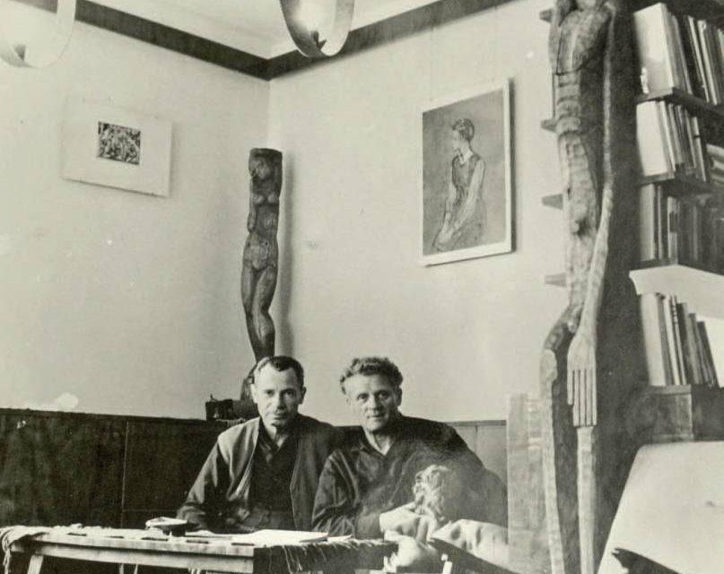 Vida Gheza și Paul Erdos la Baia Mare în 1963