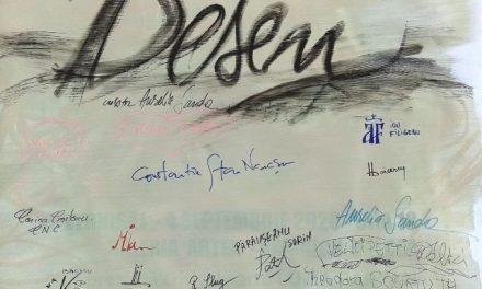 """Două expoziții:""""DESEN"""" @ Galeriile Cozia Pasaj 1 și 2, Râmnicu Vâlcea și Eugen Măcinic""""Vibrații cromatice"""" Galeria Artex, Râmnicu Vâlcea"""