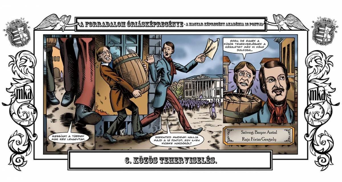 Tineretul revoluționar – Proclamația din 1848 în benzi desenate @ Fundația Téka, Gherla
