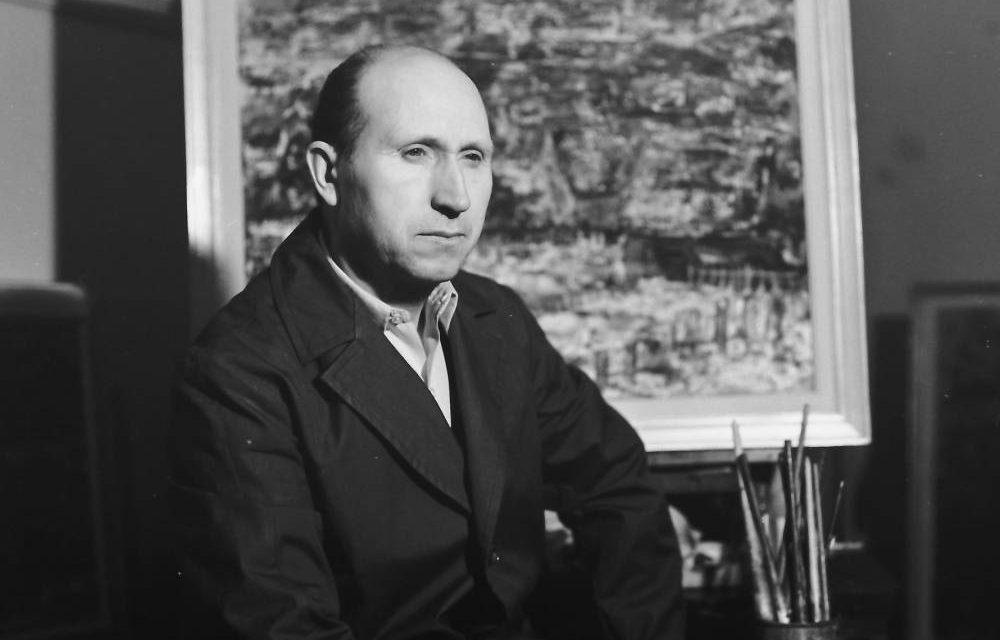 Pictorul Gheorghe Răducanu, 1976