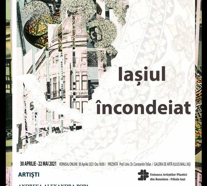 """Expoziție Ana-Maria Ungureanu și Andreea Alexandra Popa """"Iașiul încondeiat"""" @ Iulius Mall Iași"""