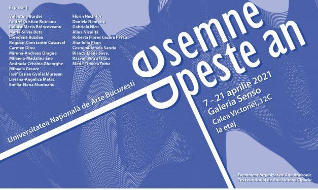 """Expoziția """"Desemne de peste an"""", la Galeria Senso, București"""