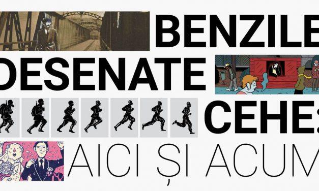 O nouă expoziție la Centrul Ceh – Benzile desenate cehe: aici și acum