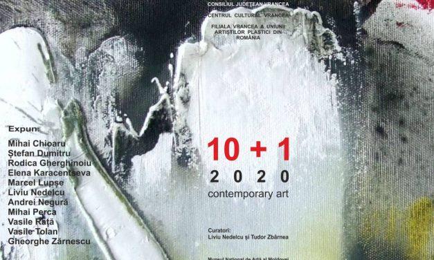 Expoziţia de artă contemporană ,,10+1, 2020'' @ Muzeul Național de Artă al Moldovei, din Chișinău