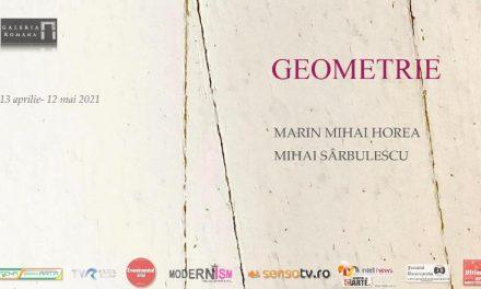 """Expoziţie de pictură """"GEOMETRIE"""", Marin Mihai HOREA şi Mihai SÂRBULESCU @ Galeria Romană, București"""
