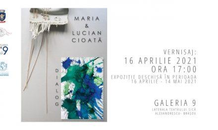 """Expoziție Maria & Lucian Cioată """"Dialog"""" @ Galeria 9, Brașov"""