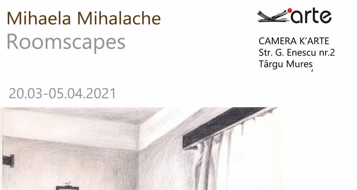 """Mihaela Mihalache – Expoziție personală cu instalație la fereastră """"Roomscapes"""" @ Camera K'ARTE, Târgu Mureș"""