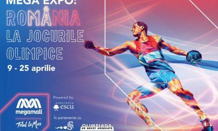 Istoria participării României la Jocurile Olimpice prezentată în cadrul unei expoziții eveniment, organizată la Mega Mall, București