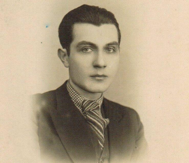 Gheorghe Naum, fotografie din perioada studenției, circa 1926