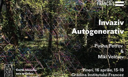 """Invaziv. Autogenerativ"" Carte blanche aux artistes Pusha Petrov & Miki Velciov @ Grădina Institutului Francez, Timișoara"