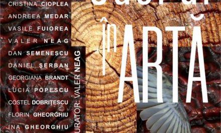 expoziție de arte vizuale SACRUL ÎN ARTĂ al membrilor Filialei Tg Jiu a UAP din Romania, la Galeriile Municipale de Artă Tg Jiu