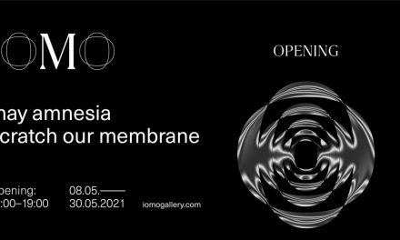 """may amnesia scratch our membrane"" group show @ IOMO Gallery, Combinatul Fondului Plastic, București"