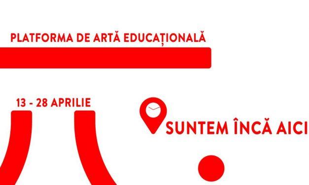 """Platforma de Artă Educațională – """"SUNTEM ÎNCĂ AICI!"""" @ Centrul de Teatru Educațional Replika"""