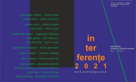 Expoziția Interferențe – Ziua Europei @ Pinacoteca Centrului Cultural Vrancea