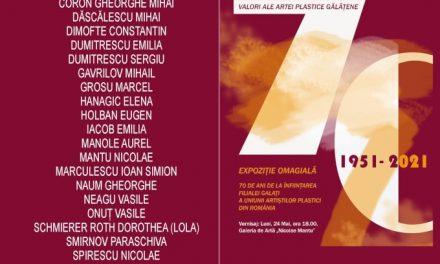 Aniversarea a 70 de ani de existență a Filialei Galați a UAP din România