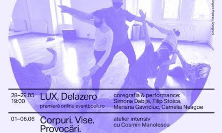 Stagiunea AREAL – 4 Corpuri | 2 premiere, 2 ateliere, AREAL Lounge si alte evenimente de dans contemporan