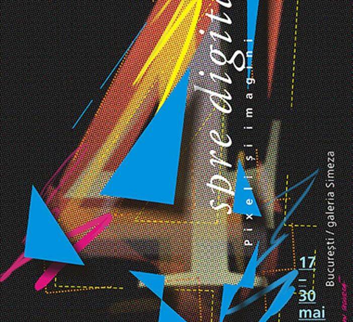 """Expoziție de grafică digitală """"Spre digital… Pixeli și imagini"""" @ Galeria Simeza, București"""