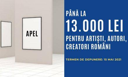 Apel pentru artiști, autori și creatori români pentru execuție creații artistice cu temă socială