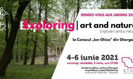 Exploring | art and nature @ Domeniul Ghica de la Ghergani
