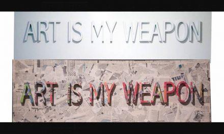 """Expoziția """"ART IS MY WEAPON"""" a grupului2META @ Galeria Nouă, București"""