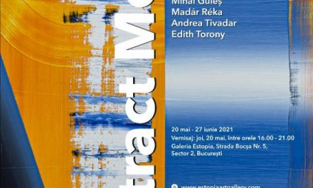"Expoziție ""Abstract Mood"": Marina Aristotel, Gagyi Botond, Mihai Guleș, Madár Réka, Andrea Tivadar și Edith Torony @ Galeria EstopiaBucurești"