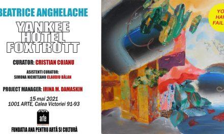 "Expoziție Beatrice Anghelache ""Yankee Hotel Foxtrot"" @ 1001 Arte, București"