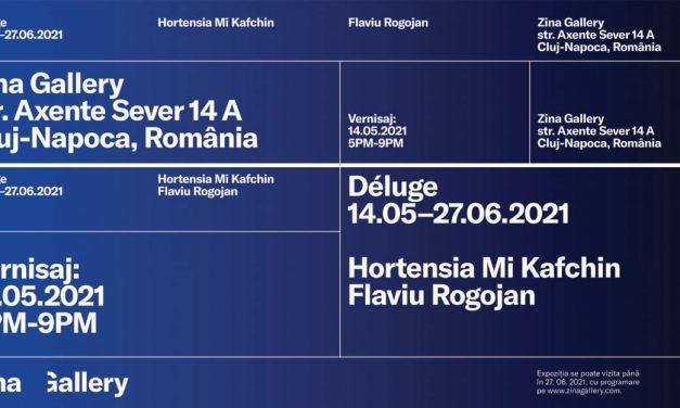 Déluge: Hortensia Mi Kafchin, Flaviu Rogojan Zina Gallery, Cluj-Napoca