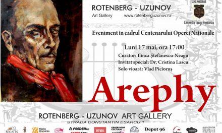 Expoziţie retrospectivă a pictorului Gabriel Stephănescu-Arephy @ Galeria Rotenberg-Uzunov, București