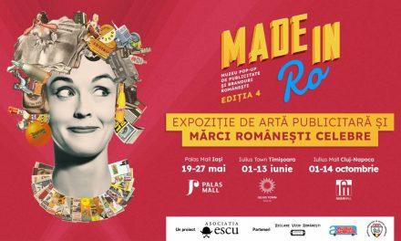 Made in RO: muzeu pop-up de publicitate si branduri romanesti da startul unei editii itinerante, ce se va concretiza printr-o caravana expozitionala la Iasi, Timisoara si Cluj-Napoca!