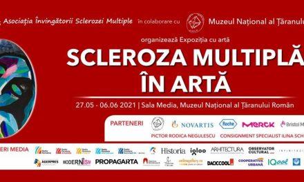 Scleroza Multiplă în artă. Expoziție cu lucrări realizate de pacienți @ Muzeul Național al Țăranului Român