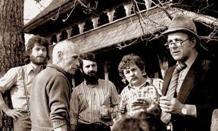 Revista Arta în Baia Mare 1983: Tiberiu Alexa, Horia Horșia, Marius Tătaru, Gheorghe Crăciun și Vasile Draguț
