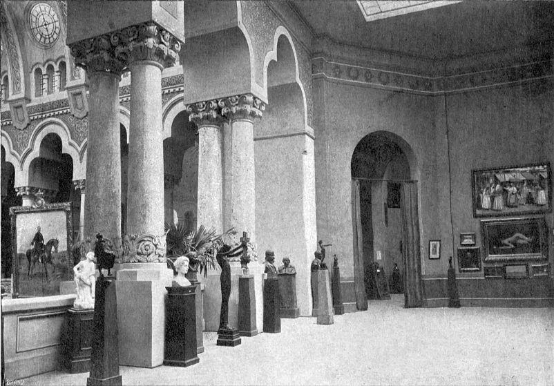 Sala Tinerimii Artistice la Expoziția Generală Română din 1906