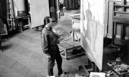 Ștefan Szönyi  în atelier