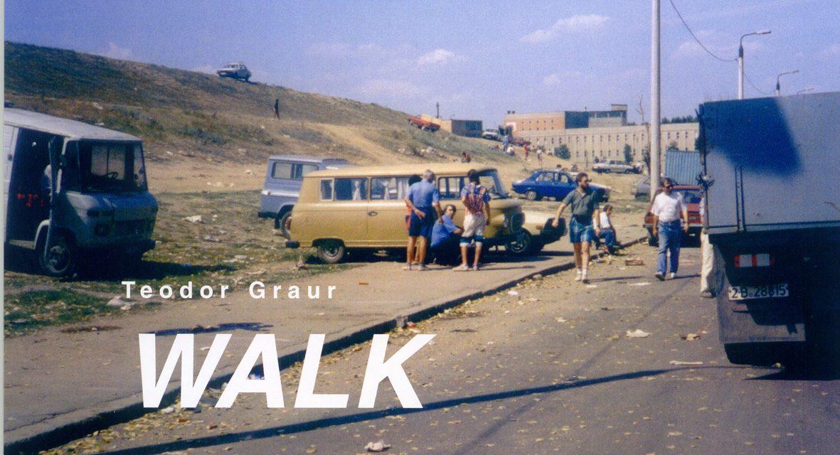 """Teodor Graur """"WALK – A umbla şi a vedea, a vedea şi a umbla"""" @ Galeria Nouă, bUCUREȘTI"""