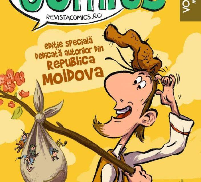 Revista COMICS nr. 40 – Ediție specială Rep. Moldova