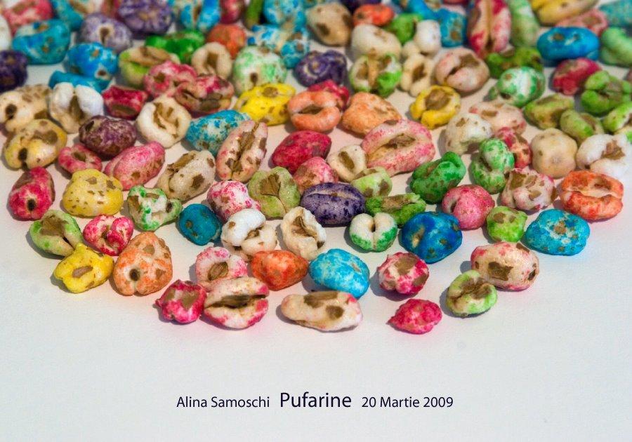 "Alina Samoschi ""Pufarine"" @ galeria 29, Bucuresti"