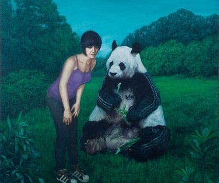 """Adrian Preda """"FASHION PREY""""(pictura) @ Atelier 35, Bucuresti"""