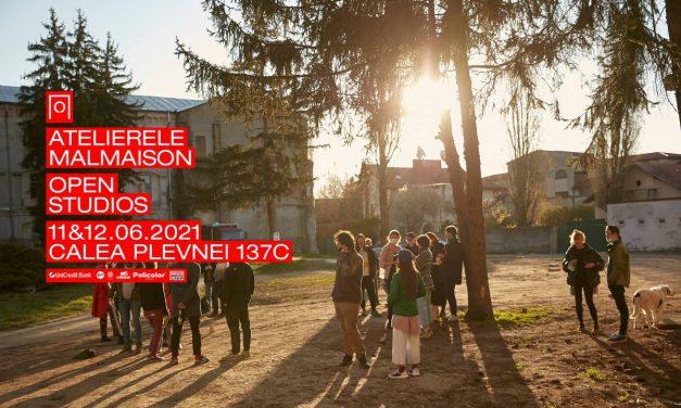 ATELIERELE MALMAISON se deschid: Un proiect independent care aduce împreună ateliere de creație artistică, spații de proiecte și galerii de artă